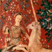 Lady and unicorn. Tapestry