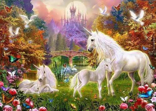 Lovely unicorn. Jan Patrik Krasny