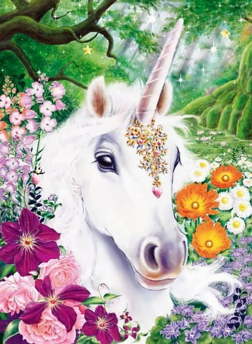Magnificent unicorn. Jan Patrik Krasny