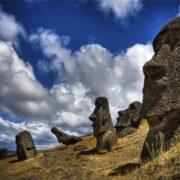 Majestic moai