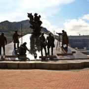Monument to builders