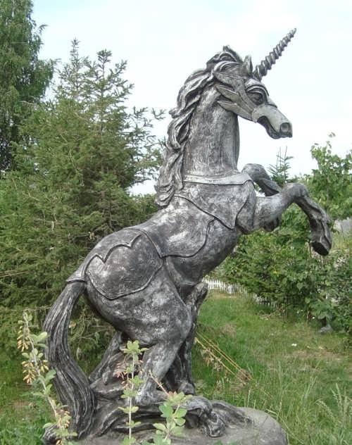 Monument to unicorn