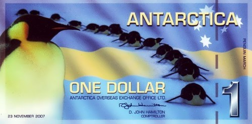 One Antarctica Dollar