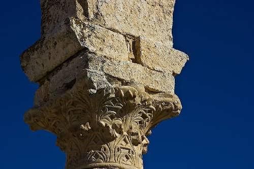 Ornament on columns