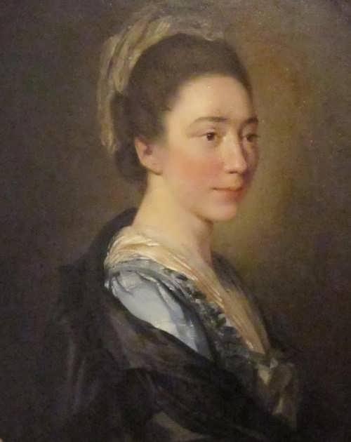Portrait of Marie Anne Collot