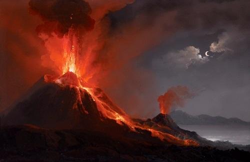 Powerful Mount Vesuvius