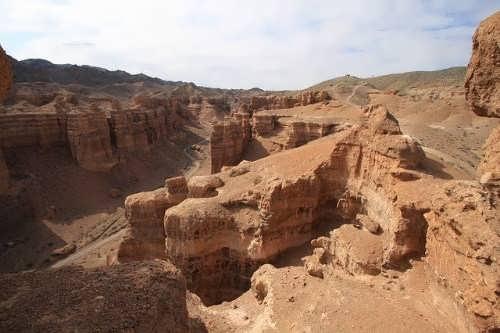Sharyn Canyon in Kazakhstan