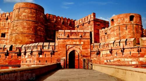 Stunning Red Fort of Agra