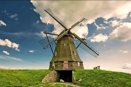 Stunning windmill