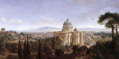 The St Peter's In Rome, Caspar Andriaans van Wittel. 1372