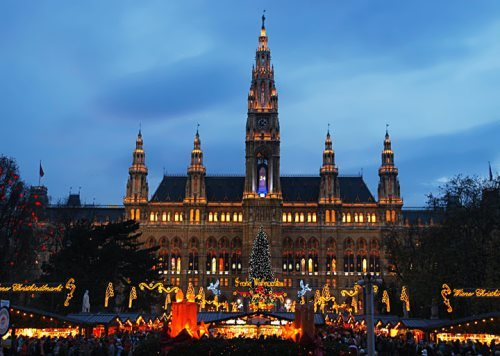 Town Hall Square in Vienna