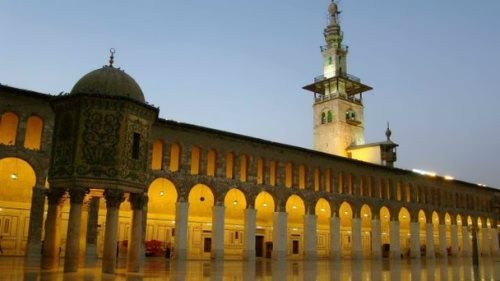 Umayyad Mosque, also known as the Great Mosque of Damascus