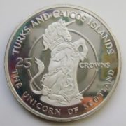 Unicorn on a coin