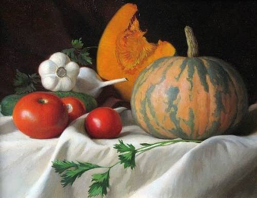 V. Fedotov. The October pumpkin