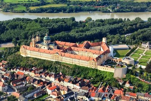 magnificent Benedictine Abbey at Melk