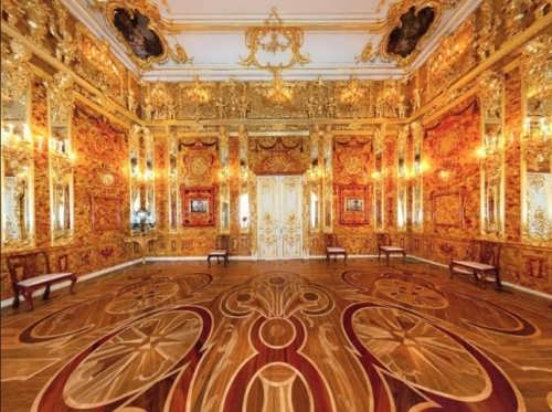 Amber Room – wonderful masterpiece