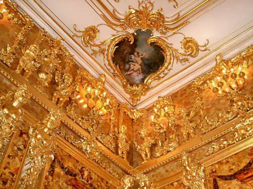 Attractive Amber Room