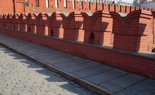 Battlements on Kremlin walls