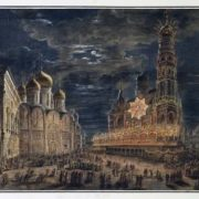 F. Alekseev. Cathedral Square, 1801