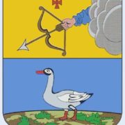 Goose on the coat of arms