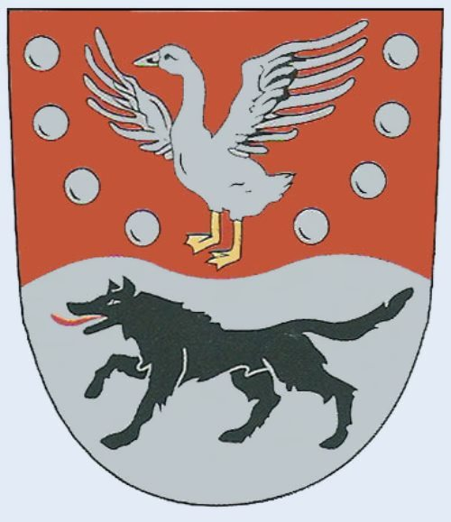 Goose on the coat of arms of Prignitz