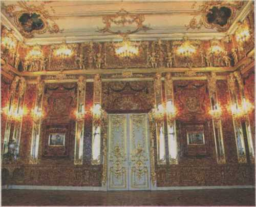 Graceful Amber Room