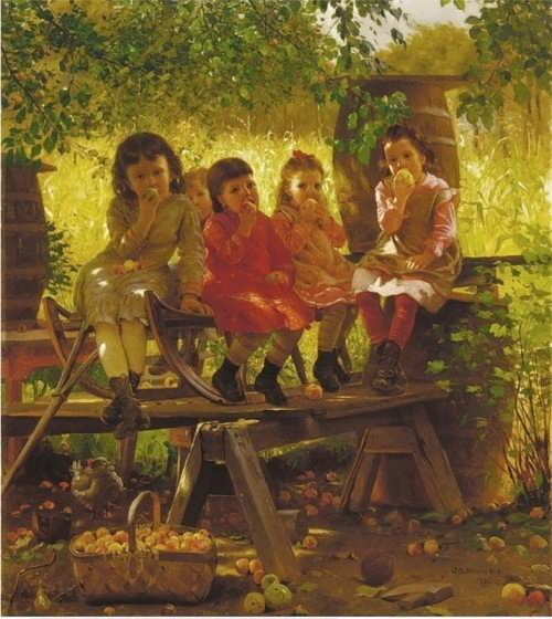 John George Brown -The Cider Mill, 1880