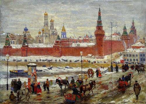 Konstantin Yuon. Old Moscow
