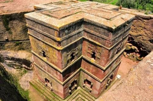 Monolithic churches in Lalibela