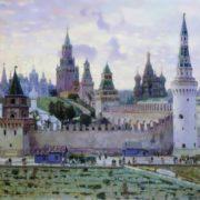 Moscow Kremlin. A. Vasnetsov