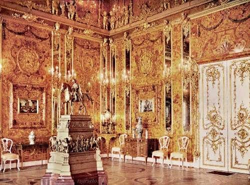 Mysterious Amber Room