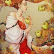 Olga Naletova. Antonov apples