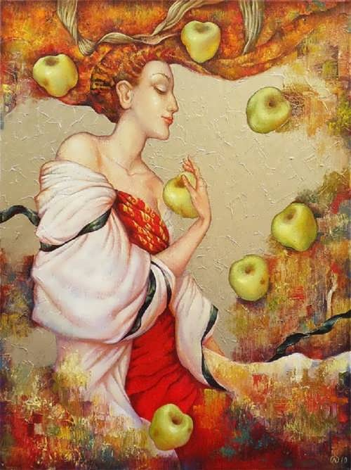 Olga Naletova. Antonov apples