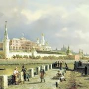 Peter Vereshchagin. View of the Moscow Kremlin