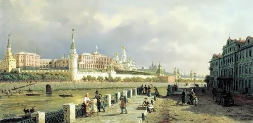 Peter Vereshchagin. View of the Moscow Kremlin