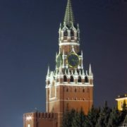The Spasskaya Tower of the Kremlin