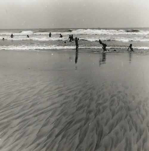 Accra. The coast of the Gulf of Guinea