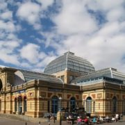 Alexandra's Palace in London was opened in 1873, burnt in 16 days, but was rebuilt in two years