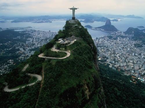 Amazing Christ the Redeemer in Brazil