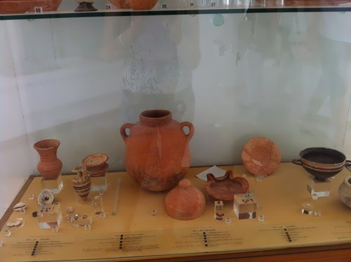 Ancient things in the museum