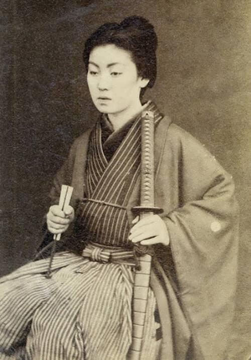 Beautiful Onna-bugeisha