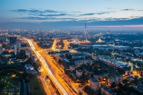 Beautiful Ostankino TV Tower