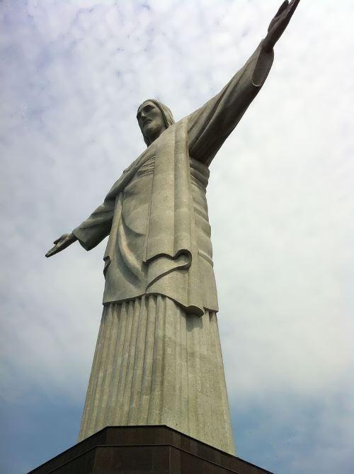 Graceful Christ the Redeemer in Brazil