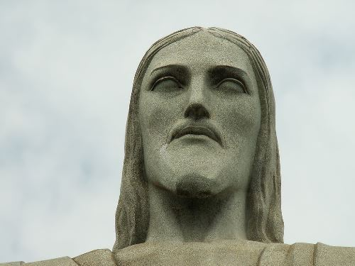 Head of Christ the Redeemer in Brazil