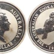 Image of kookaburra on the coin