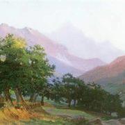 N. Ge. Oaks in the Carrara Mountains