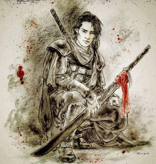 Samurai by Luis Royo