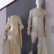 Statues in the museum in Tunis