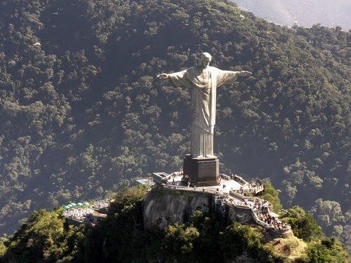 Stunning Christ the Redeemer in Brazil