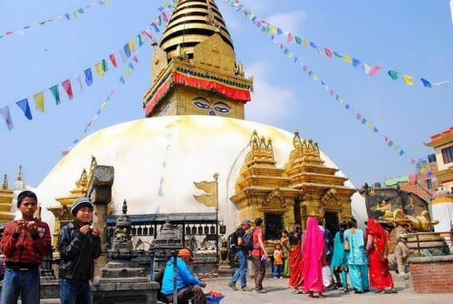 Swayambhunath Temple Center